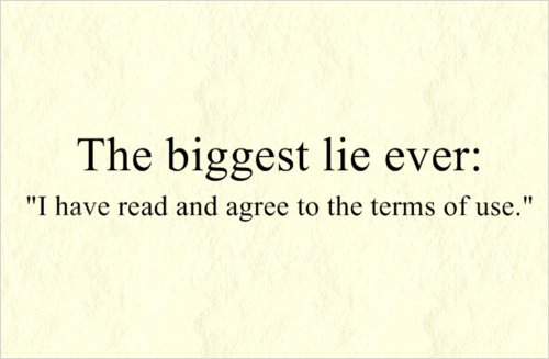 The biggest lie ever